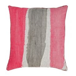 Bonnie & Neil Hand Painted Stripe Floor Cushion