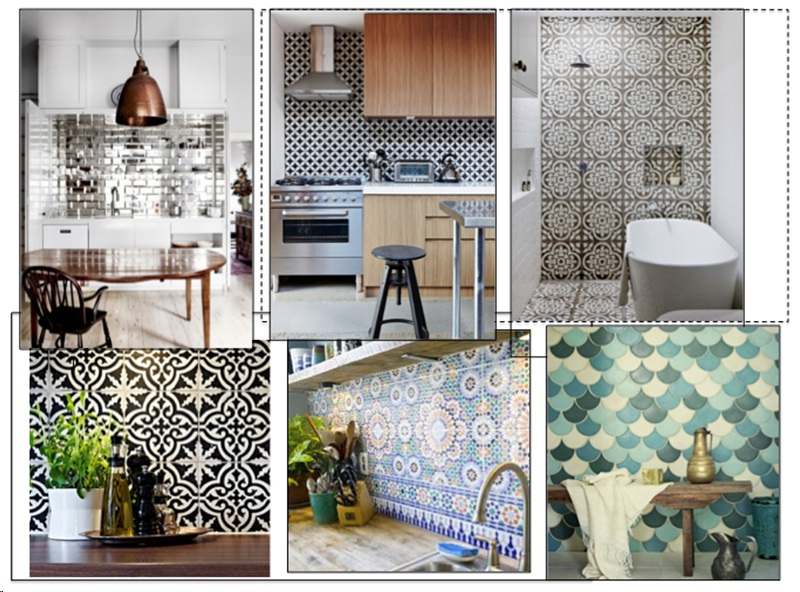 Tile Ideas for the Home