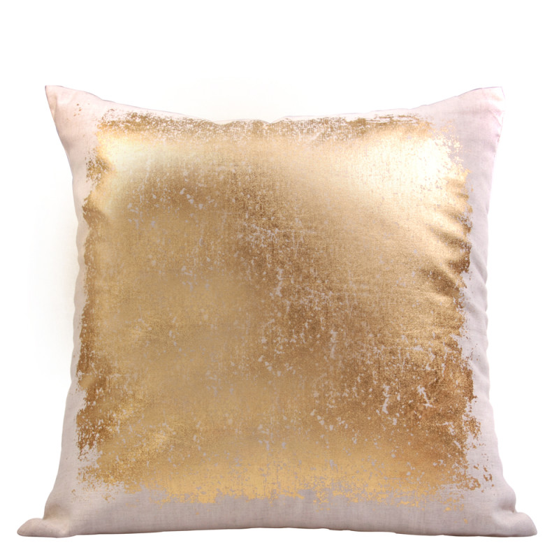 Our favourite - gold splodge cushion