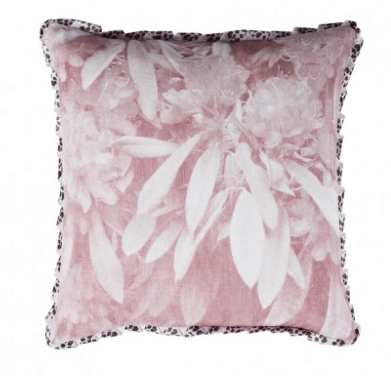 Our favourite - rhodedendron buff cushion