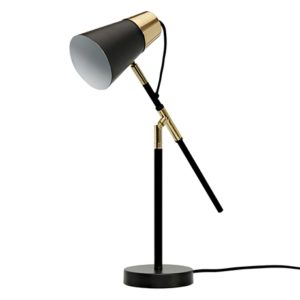 Favourite lamp - perkins table lamp for real living in black