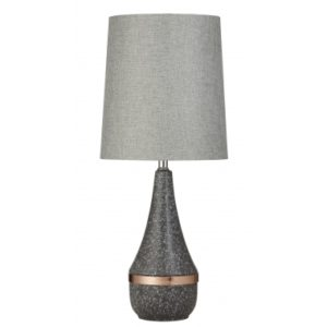 Favourite lamp - quinn table lamp in grey copper
