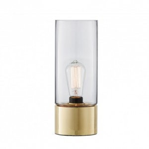 Favourite lamp - stoic table lamp in brass clear