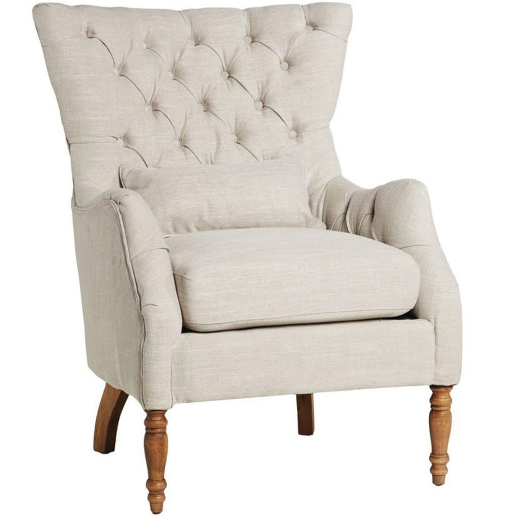 Lotus buttonback armchair Our fav armchairs!