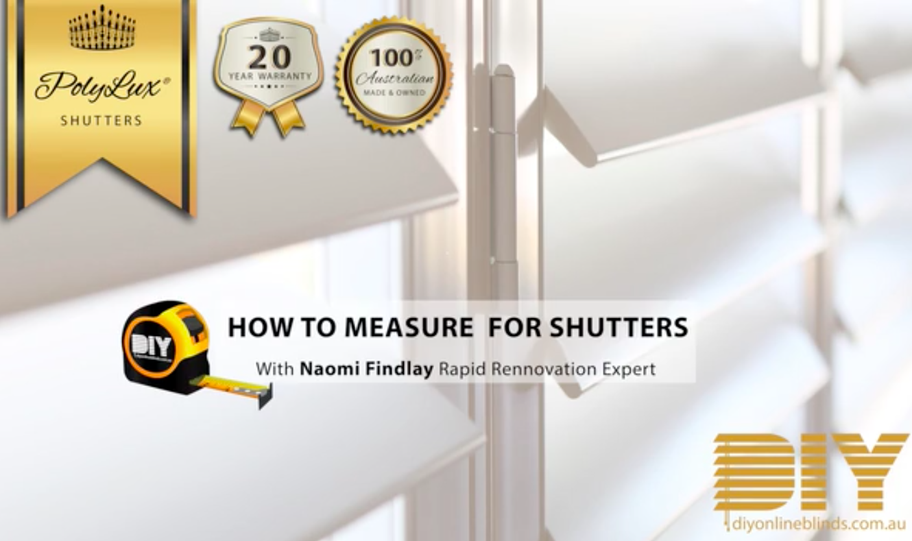 A Guide To Measuring For Shutter Installation International Institute Of Home Staging