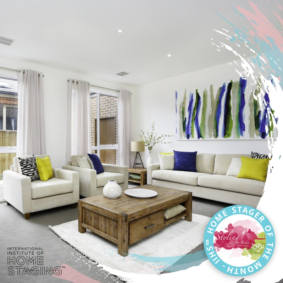 Styling By Jackie Iihs Home Stager Of The Month