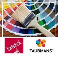 10% discount on all painting needs with Bristol and Taubmans Paints