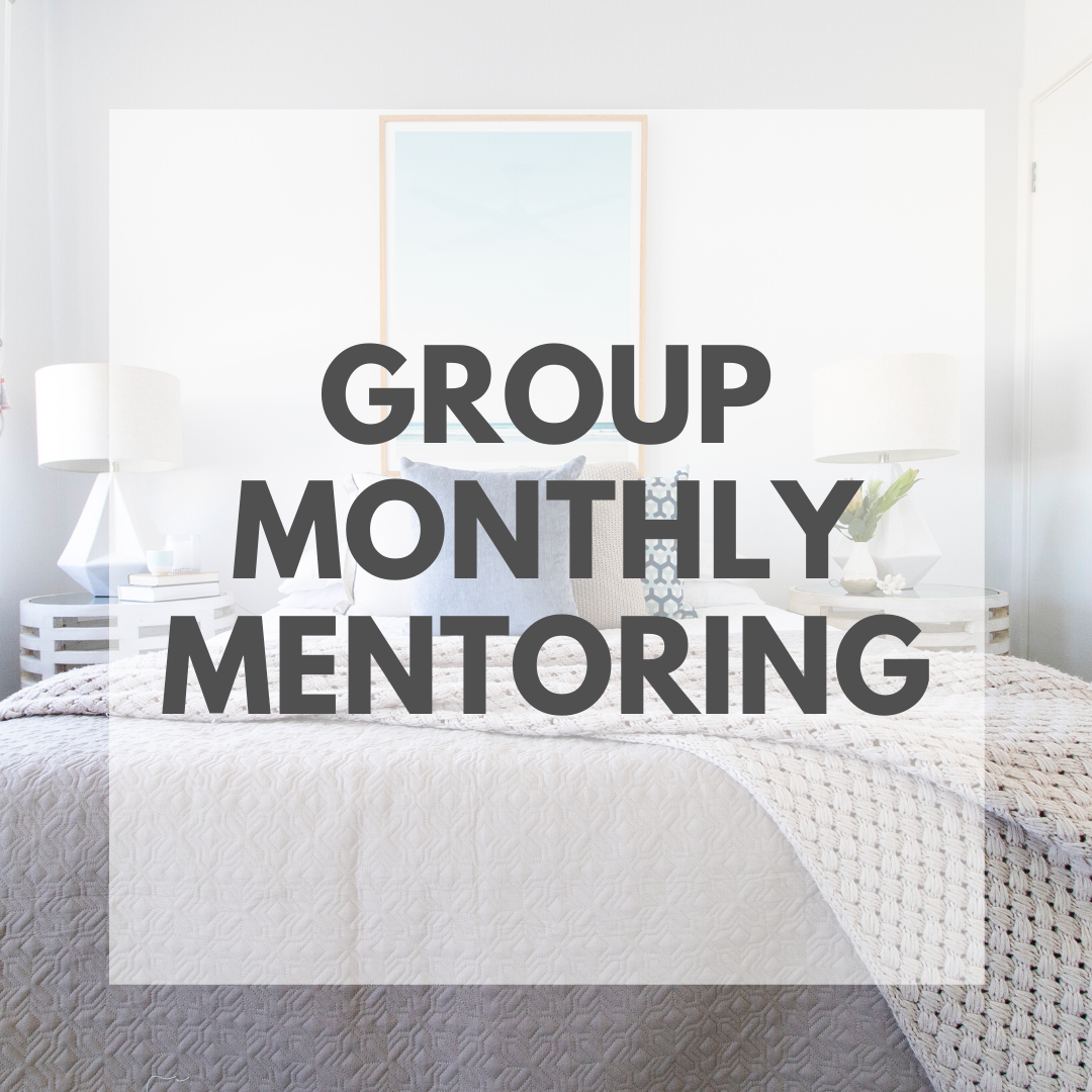 Group Monthly Mentoring - Accelerate Course