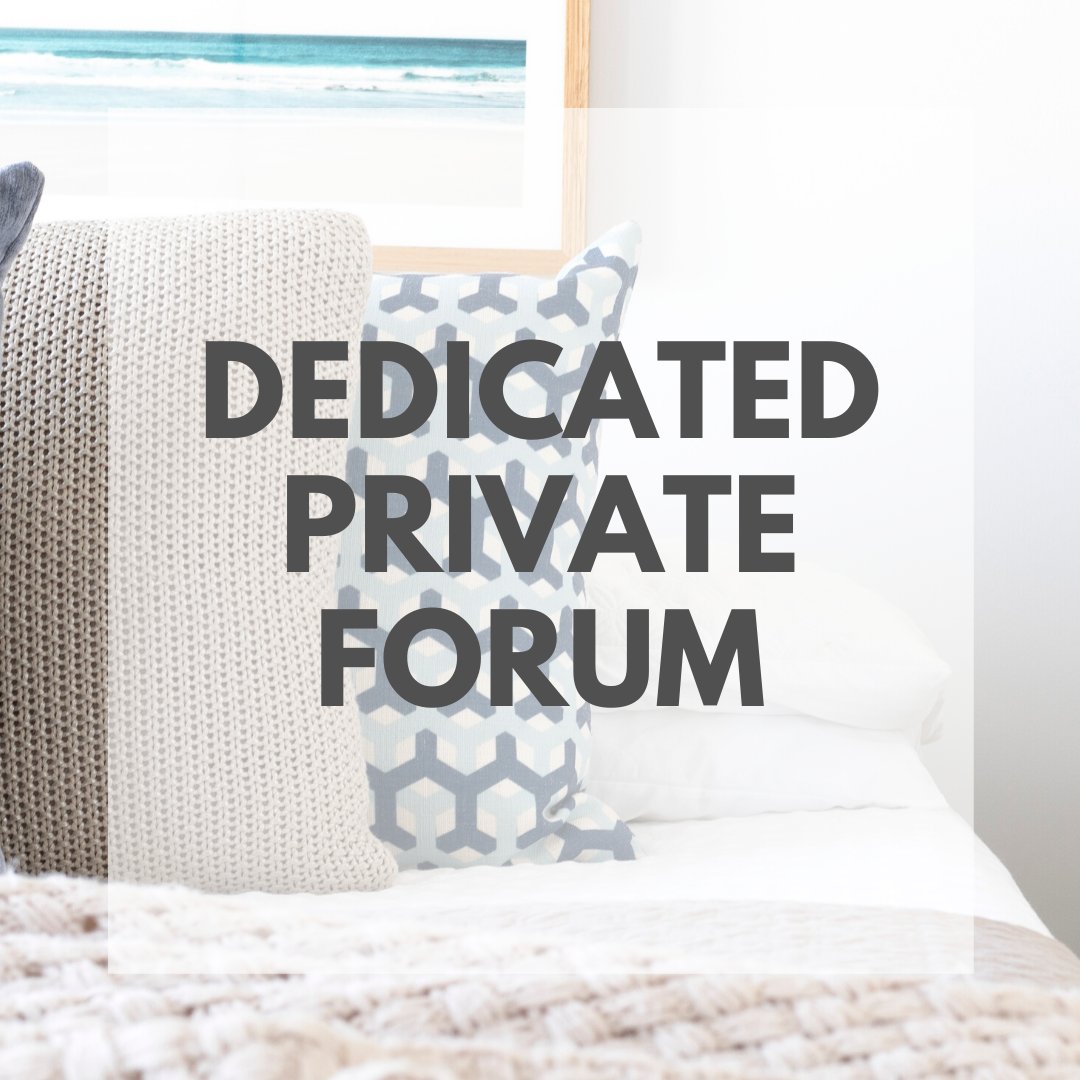 Dedicated Private Forum - Accelerate Course